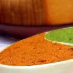 חמאת שום שמיר/עגבנית מיובשות