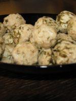 כדורי עוף בלימון
